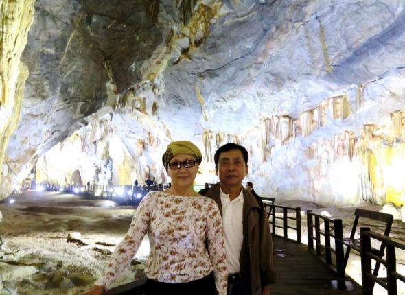 Động Thiên Đường- Cúc, Huỳnh