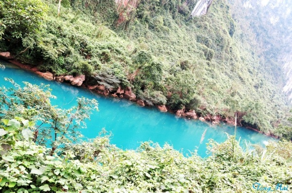 Hồ Ngọc Bích trên đường đến Quảng Bình. Photo: TongMai