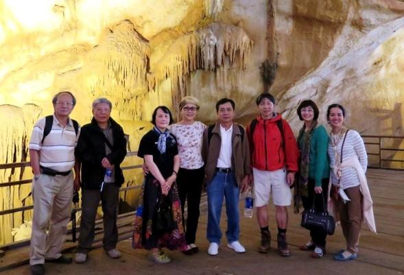 Động Thiên Đường. Thái, TD Lộc, Mai, Cúc, Thái Huỳnh, LC Hoằng, Nguyệt, Liên