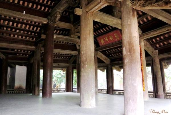 Làng cổ Đường Lâm. Đình Mông Phụ. Photo: TốngMai