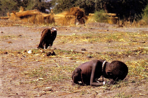 Carter's Pulitzer Prize-winning photograph