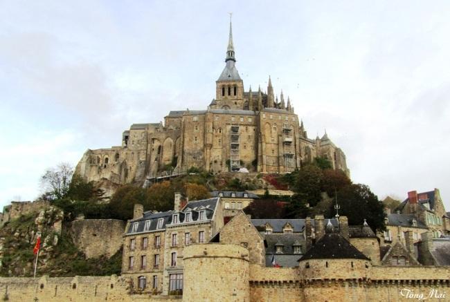 Mont Saint-Michel. Photo: TốngMai
