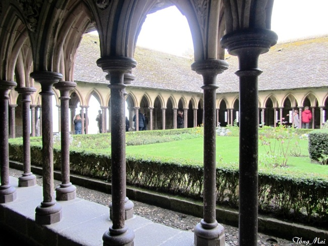 The Cloister. Photo: TốngMai