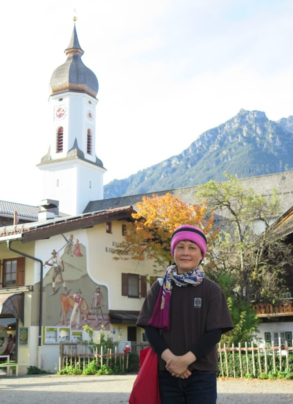 Garmisch-Partenkirchen - St Martin church. Photo: NDHoang