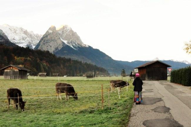 Garmisch-Partenkirchen - Cabanes. Photo: NDHoang