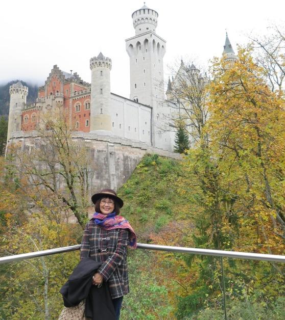 Neuschwanstein Castle - Nguyet. Photo: TongMai