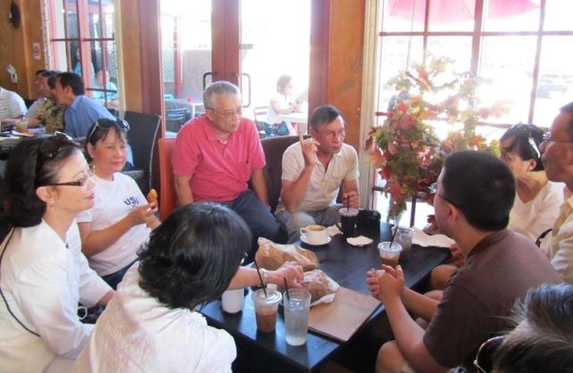 Mai 2012 - LA - Cafe royal seafood